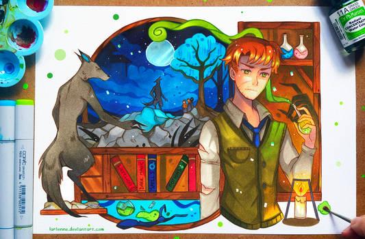 +HP - Remus Lupin+