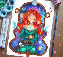 +Merida - Midsummer Night's Dream+ by larienne
