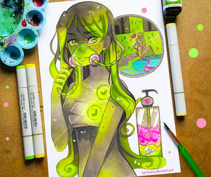 +Toxic Love+ by larienne