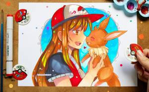 +Noserub - Pokemon Go+ by larienne