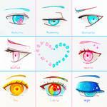 +Eye Expressions Sheet 3+