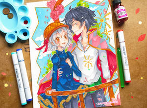 +Sophie and Howl+