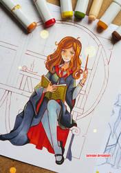 +Hermione - WIP+ by larienne