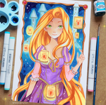 Commission - Rapunzel
