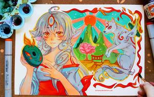 OKAMI by larienne