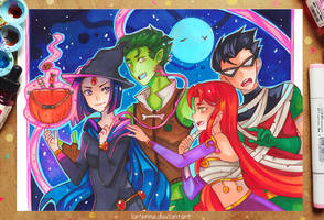 +Teen Halloween+ by larienne