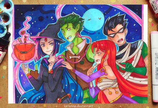 +Teen Halloween+