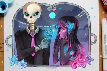 +Amor de los Muertos+ by larienne