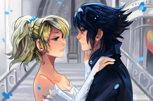 +Luna and Noctis - Stand by Me+