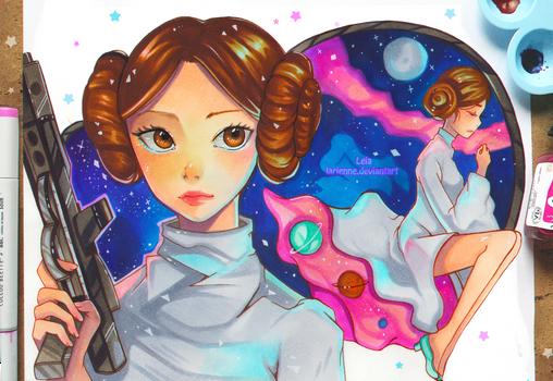 +Star Wars - The Princess of Stars+