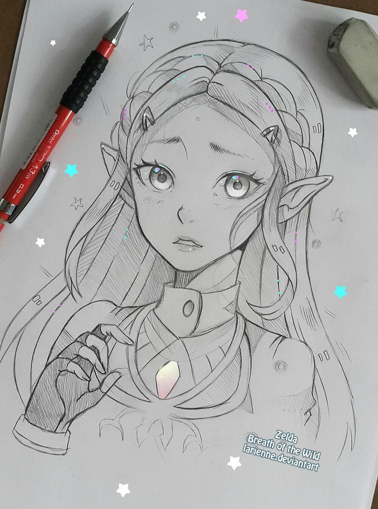 Zelda - Breath of Wild by larienne on DeviantArt