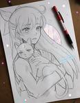 +Minako and Artemis+