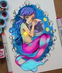 +A Mermaid and an Astronaut+