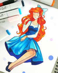 +Casual Ariel+ by larienne