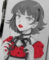 +Ladybug+ by larienne