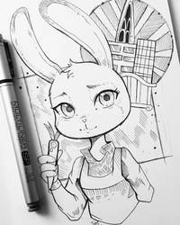 +Judy+ by larienne