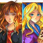 Hermione vs Luna