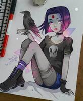 Raven by larienne