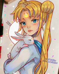 Usagi by larienne