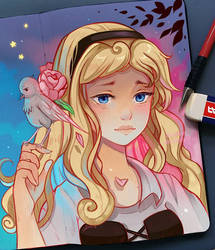 Sleeping Beauty - Anniversary by larienne