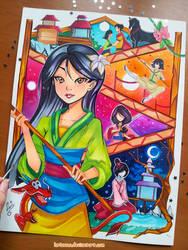 +Mulan - My Path+ by larienne
