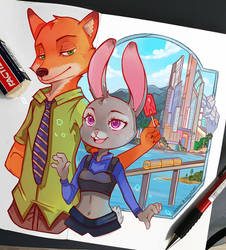 +Zootopia+ by larienne
