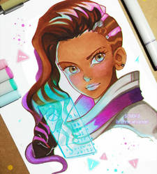 Sombra by larienne