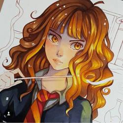 Hermione by larienne