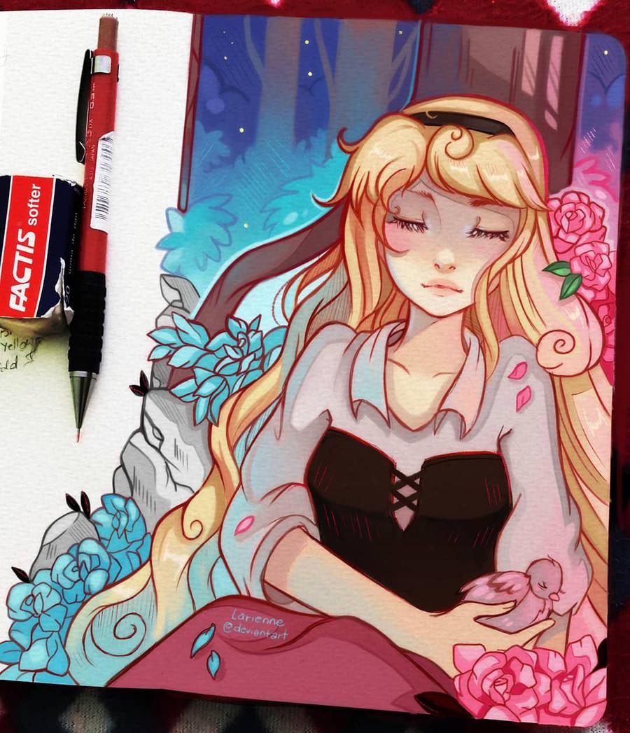 +Sleeping Beauty - Midsummer+ by larienne