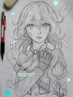 +Violet Evergarden+ by larienne