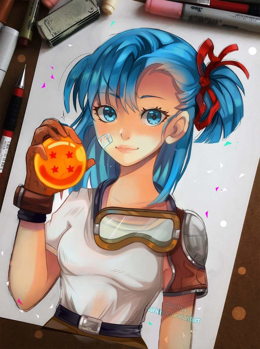 Young Bulma by larienne