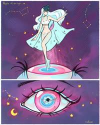 Apple of an Eye by larienne