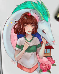 Chihiro, never forget.. by larienne