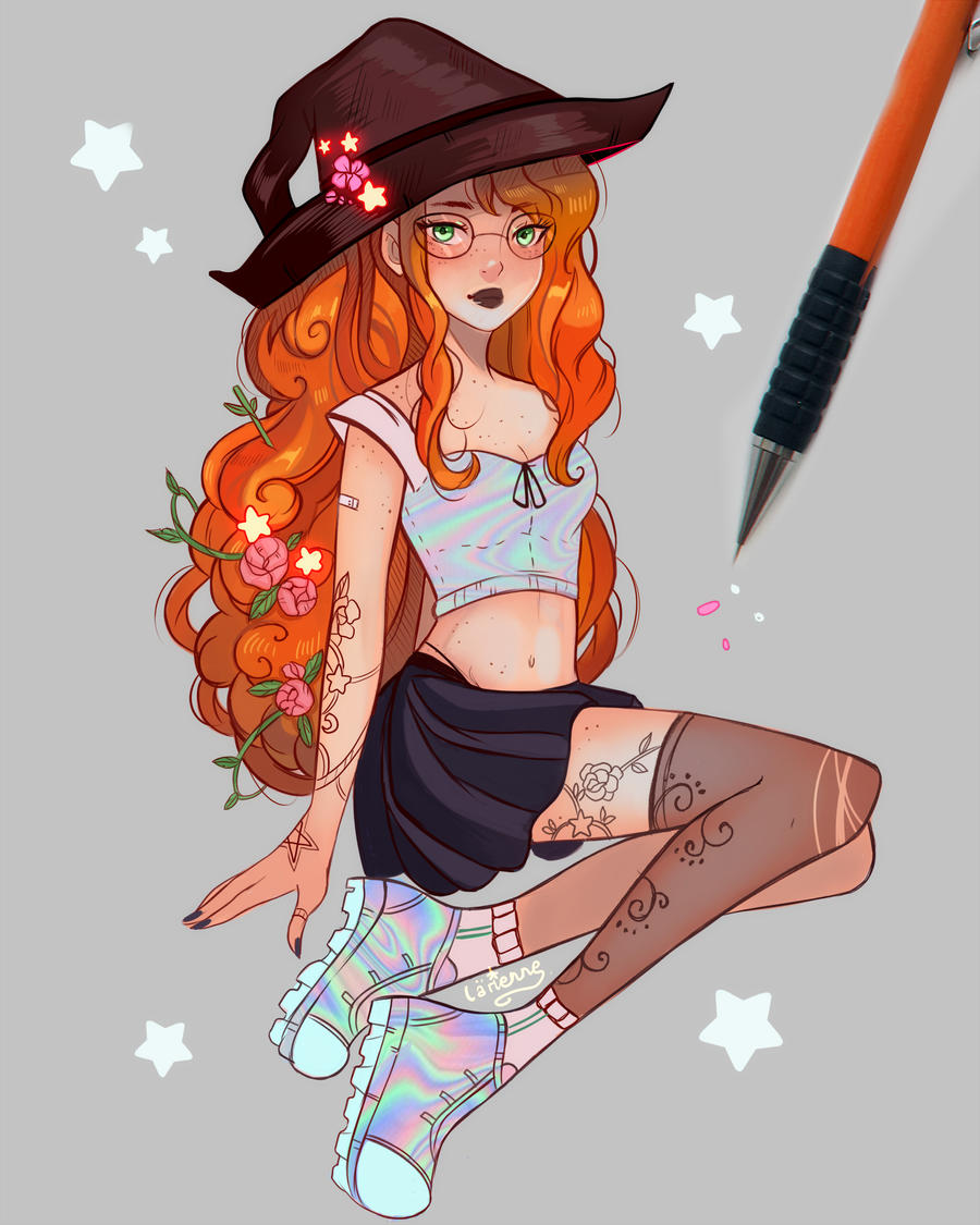Ginger Witch by larienne