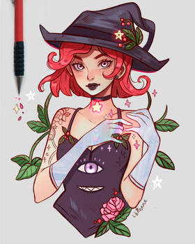 Winterberry Witch