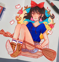 Casual Kiki by larienne