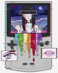 Glichy Game Boy by larienne