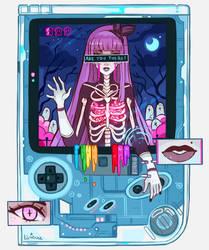 Spooky Gameboy by larienne