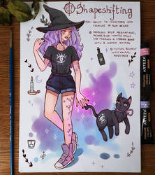 Spellbook - Shapeshifting by larienne