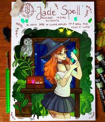 Spellbook - Jade Spell