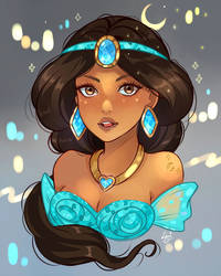 Jasmine by larienne