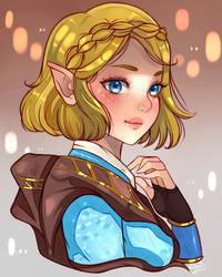 Zelda - BotW2 by larienne
