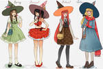 Season witches by larienne