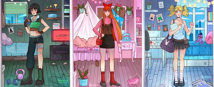 Powerpuff Girls- Room of the day
