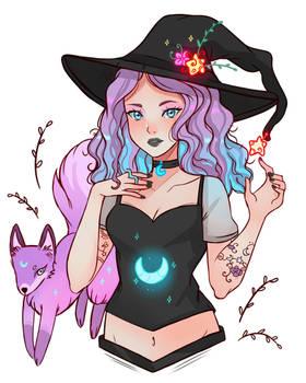 Fox spirit Witch