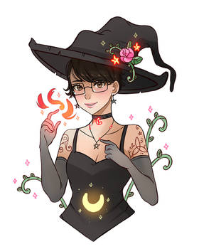 Short Haired Witch
