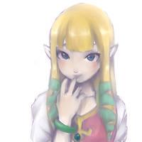 Zelda by LittleLanturn