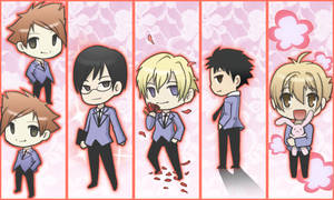 Ouran High School Bookmarks by Bloomseed