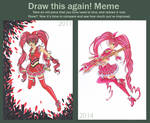 Cure Melody - Suite Precure Draw This Again! Meme