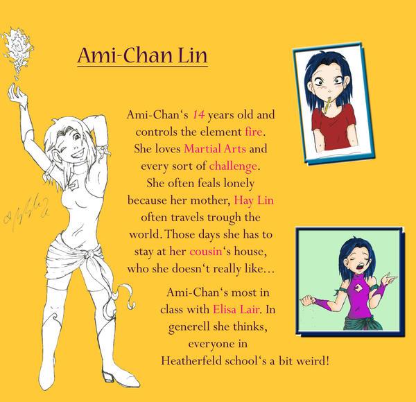 Ami-Chan Description by YummingDoe4